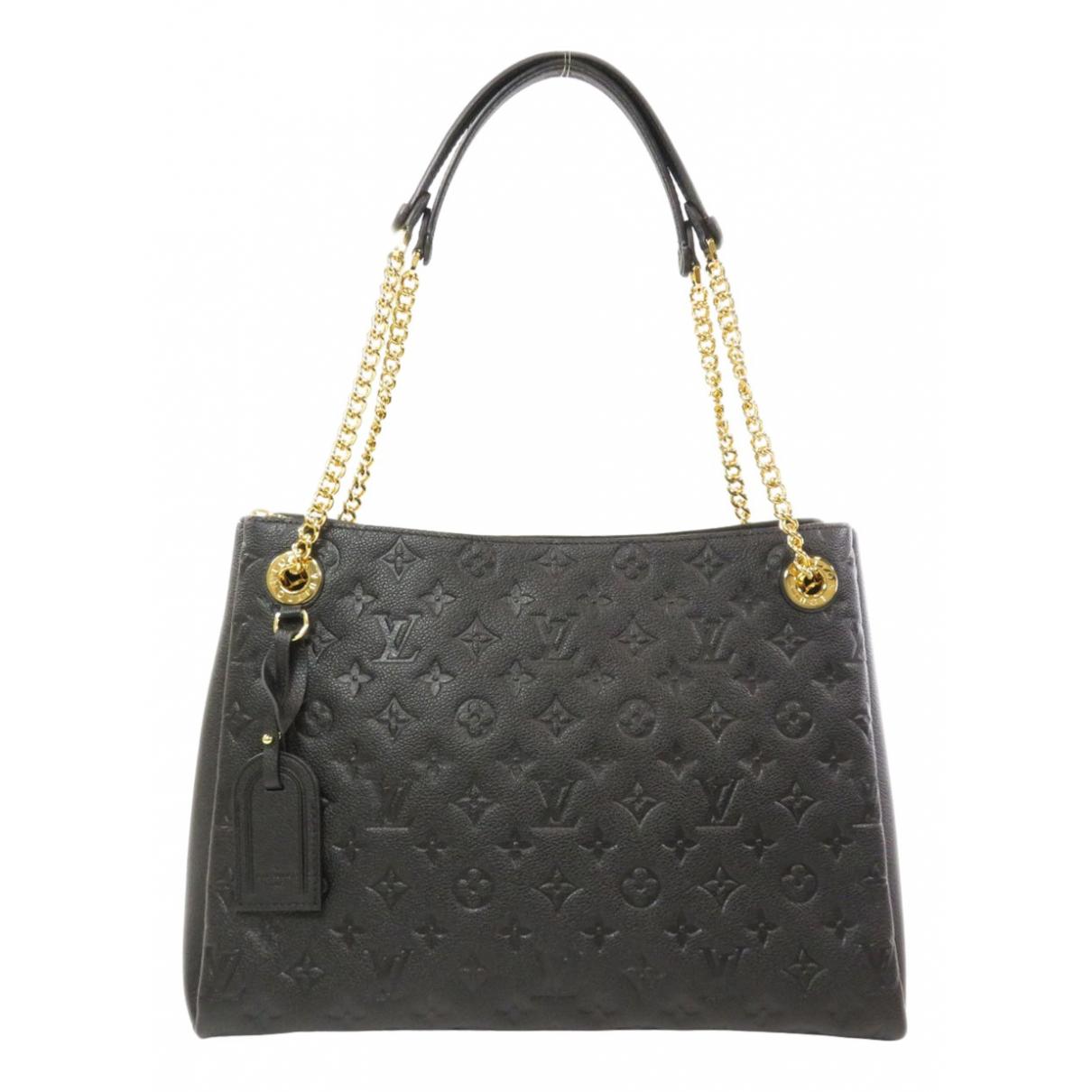 Louis Vuitton - Sac a main Surene pour femme en toile - noir