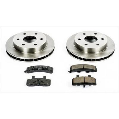 Power Stop 1-Click OE Replacement Front Brake Kits - KOE1970