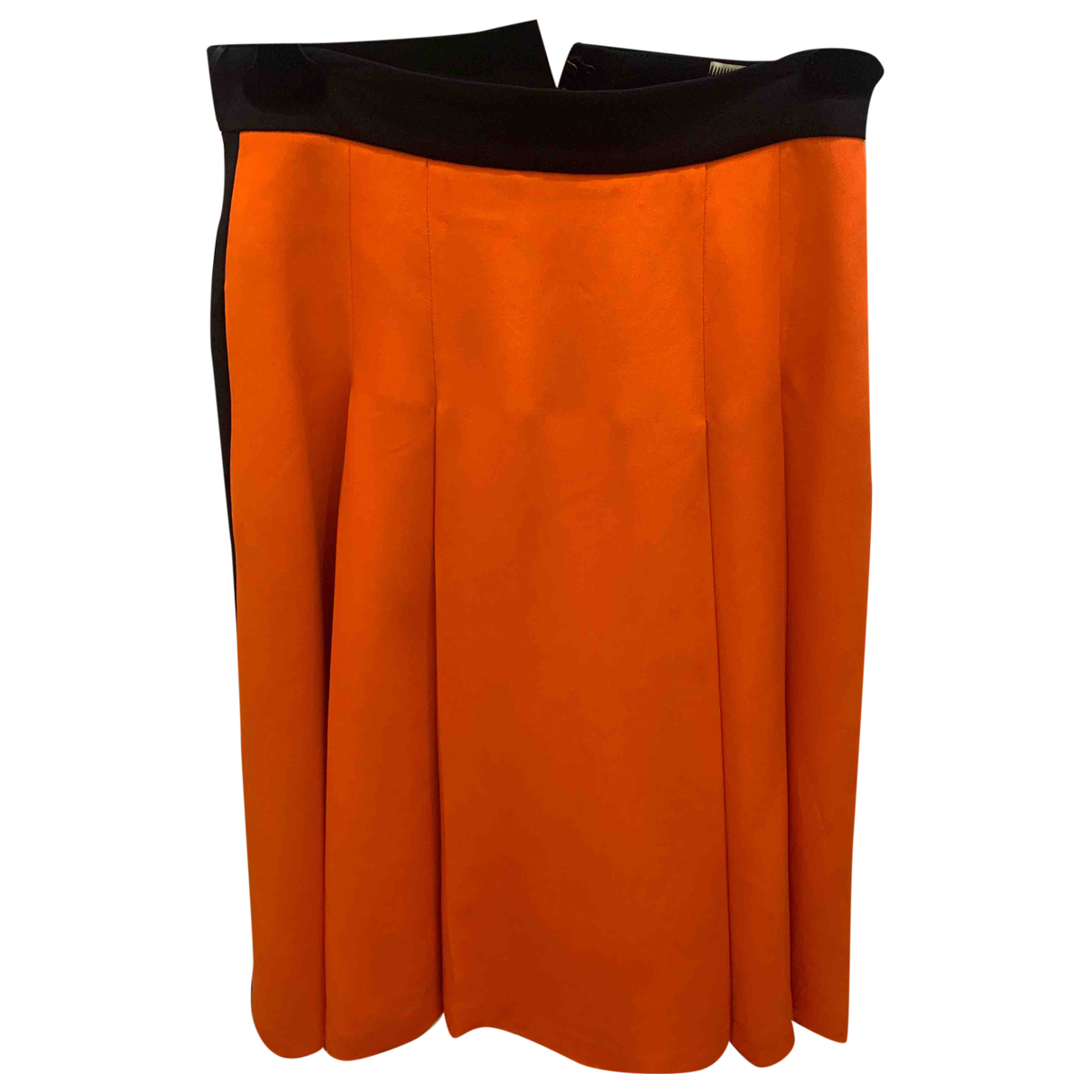Fausto Puglisi \N Rocke in  Orange Viskose