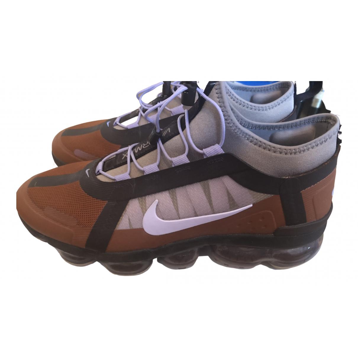 Nike Air VaporMax Sneakers in  Lila Leinen