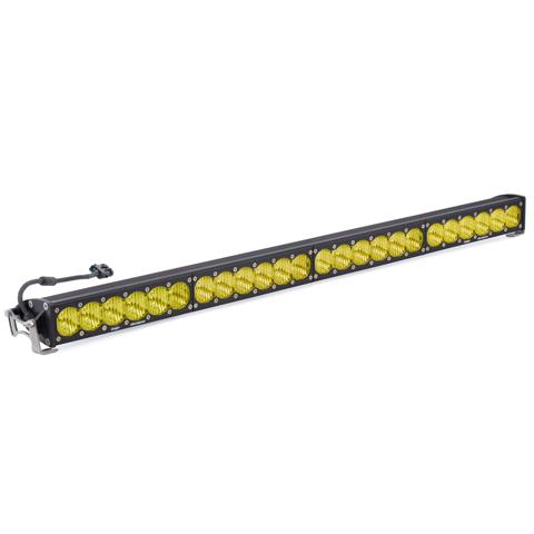 Baja Designs 454014 40 Inch LED Light Bar Amber Wide Driving Pattern OnX6 Series