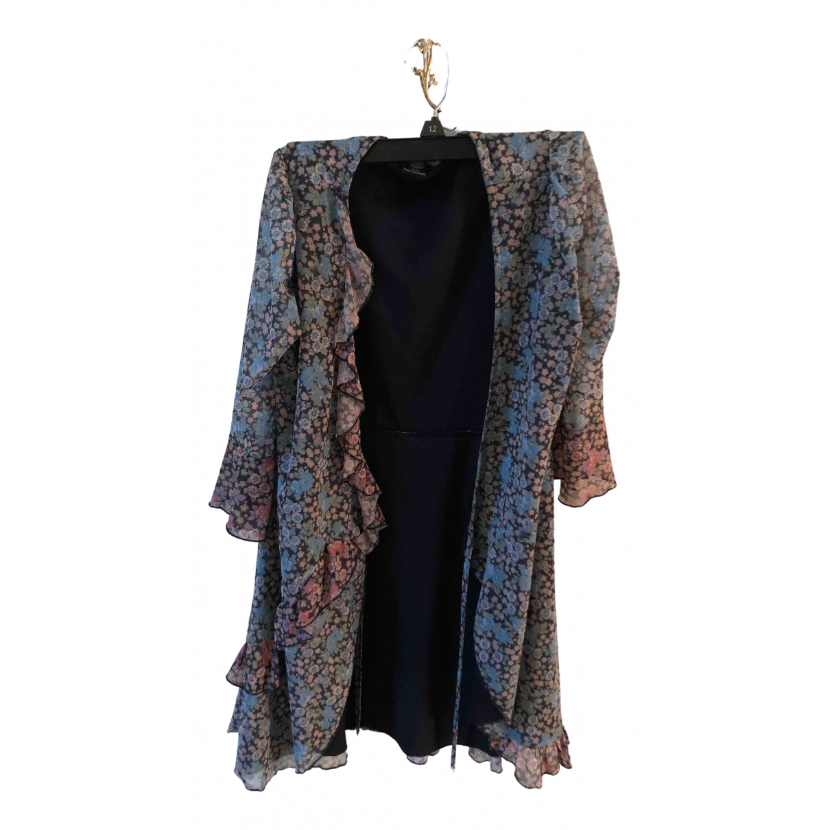 Urban Outfitters \N Kleid in  Blau Polyester