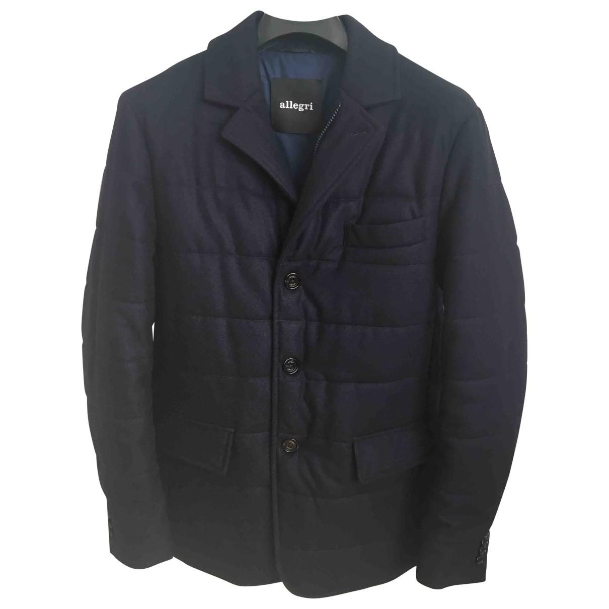 Allegri \N Navy Wool coat  for Men 48 FR