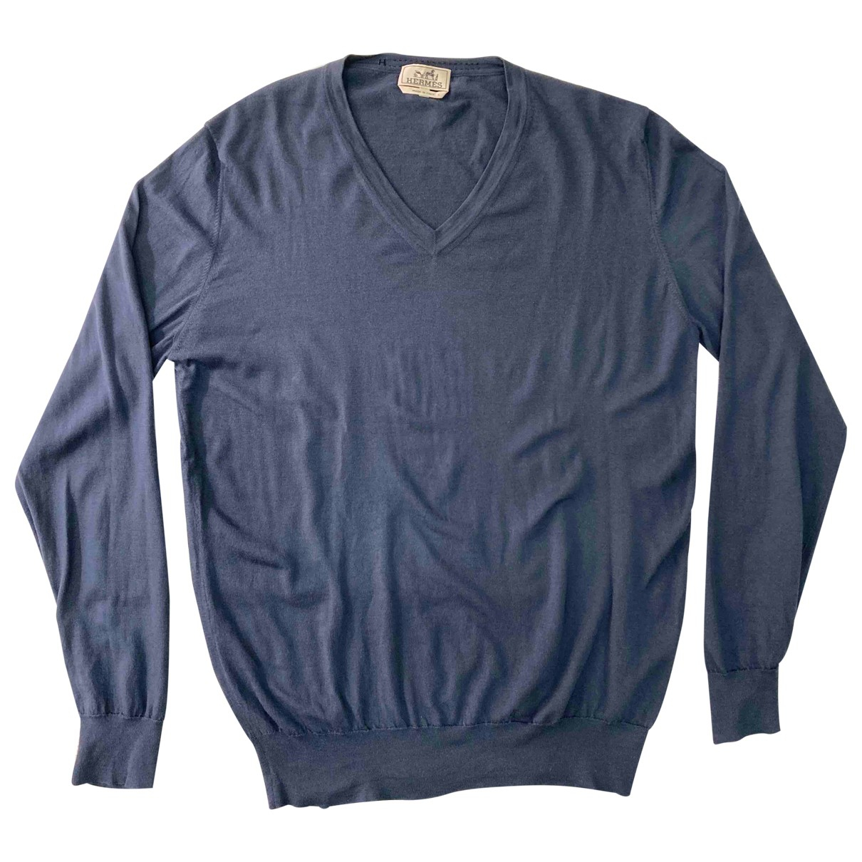 Hermès \N Blue Cashmere Knitwear & Sweatshirts for Men XXXL International