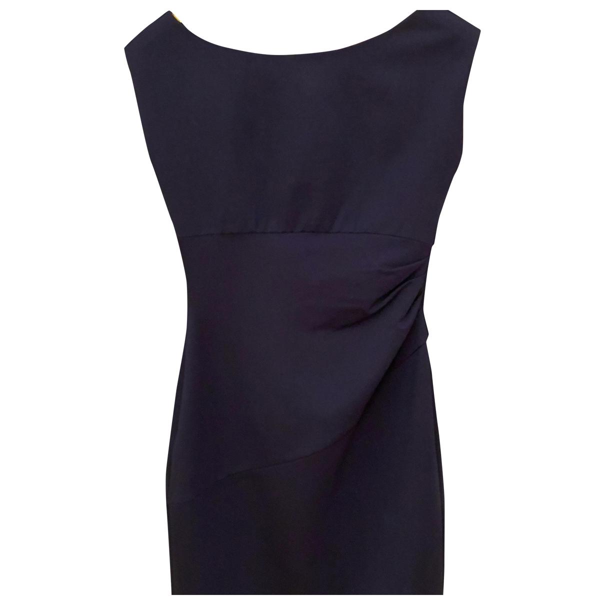 Diane Von Furstenberg - Robe   pour femme - bleu