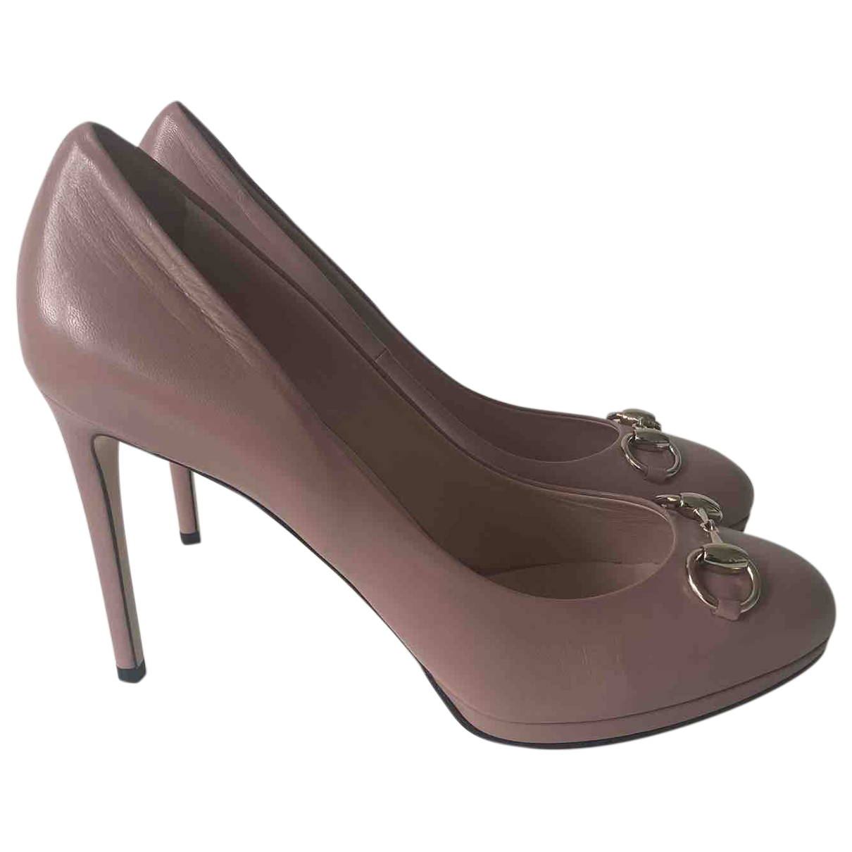 Gucci \N Pink Leather Heels for Women 41 EU