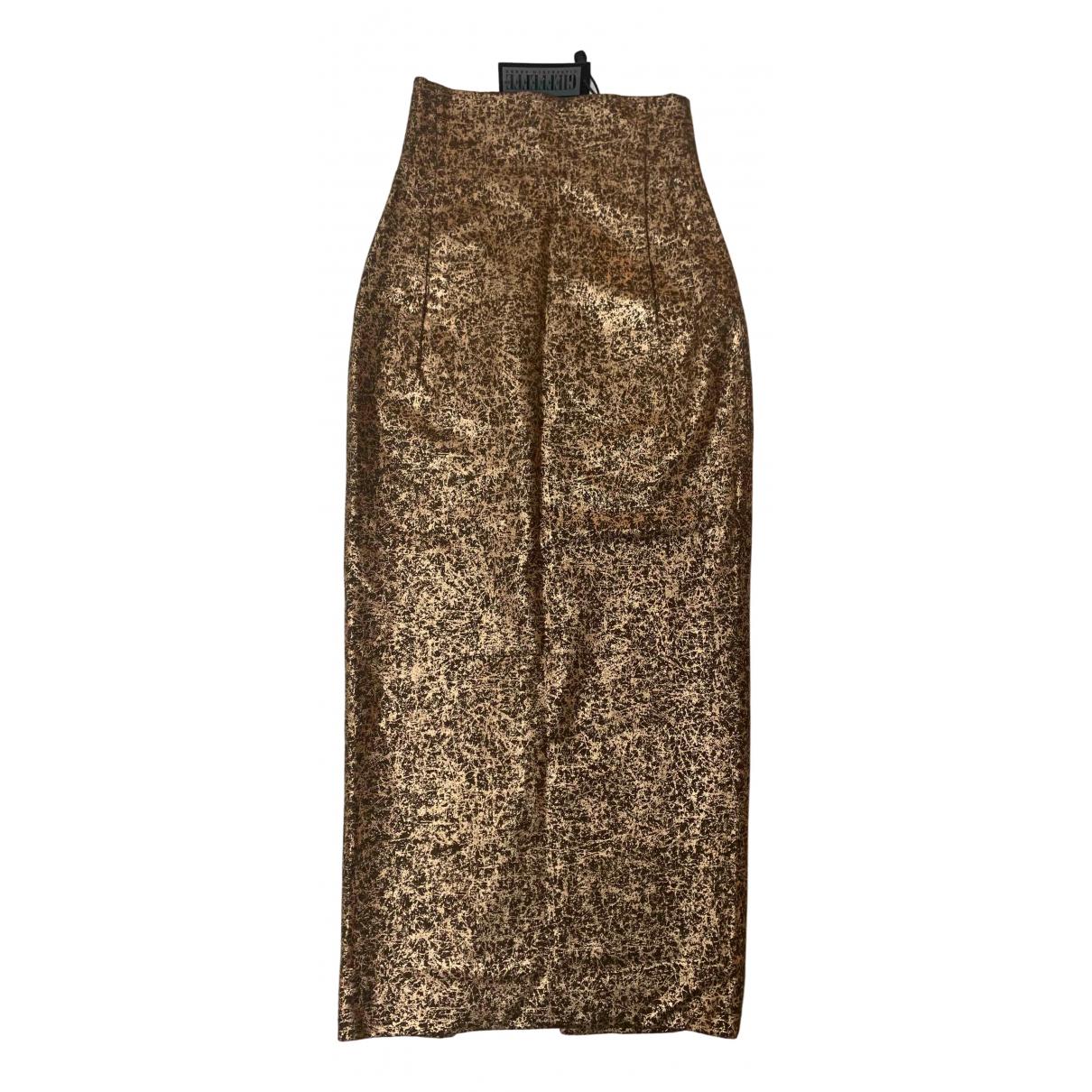 Gianfranco Ferré N Metallic Wool skirt for Women 36 FR
