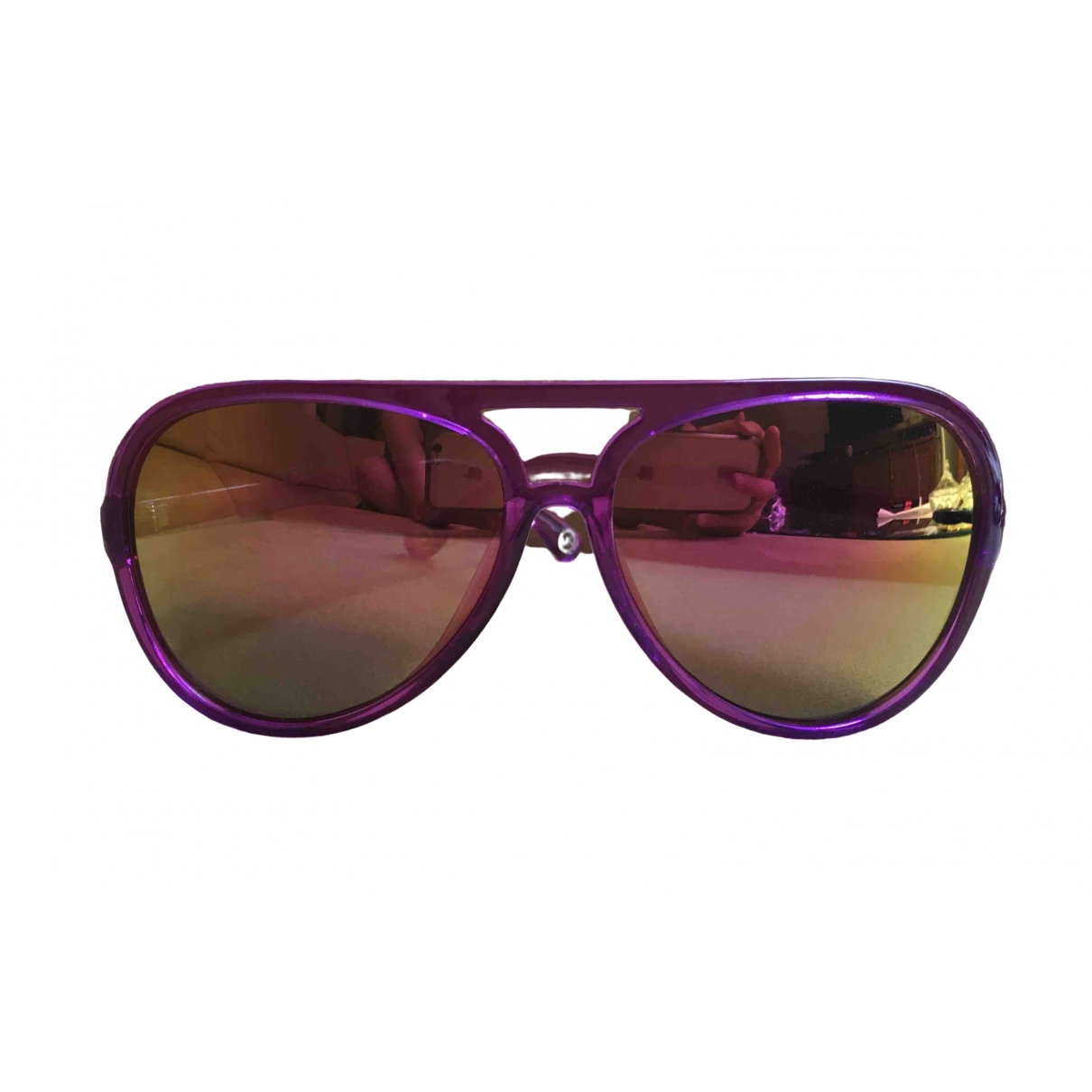 Michael Kors \N Purple Sunglasses for Women \N