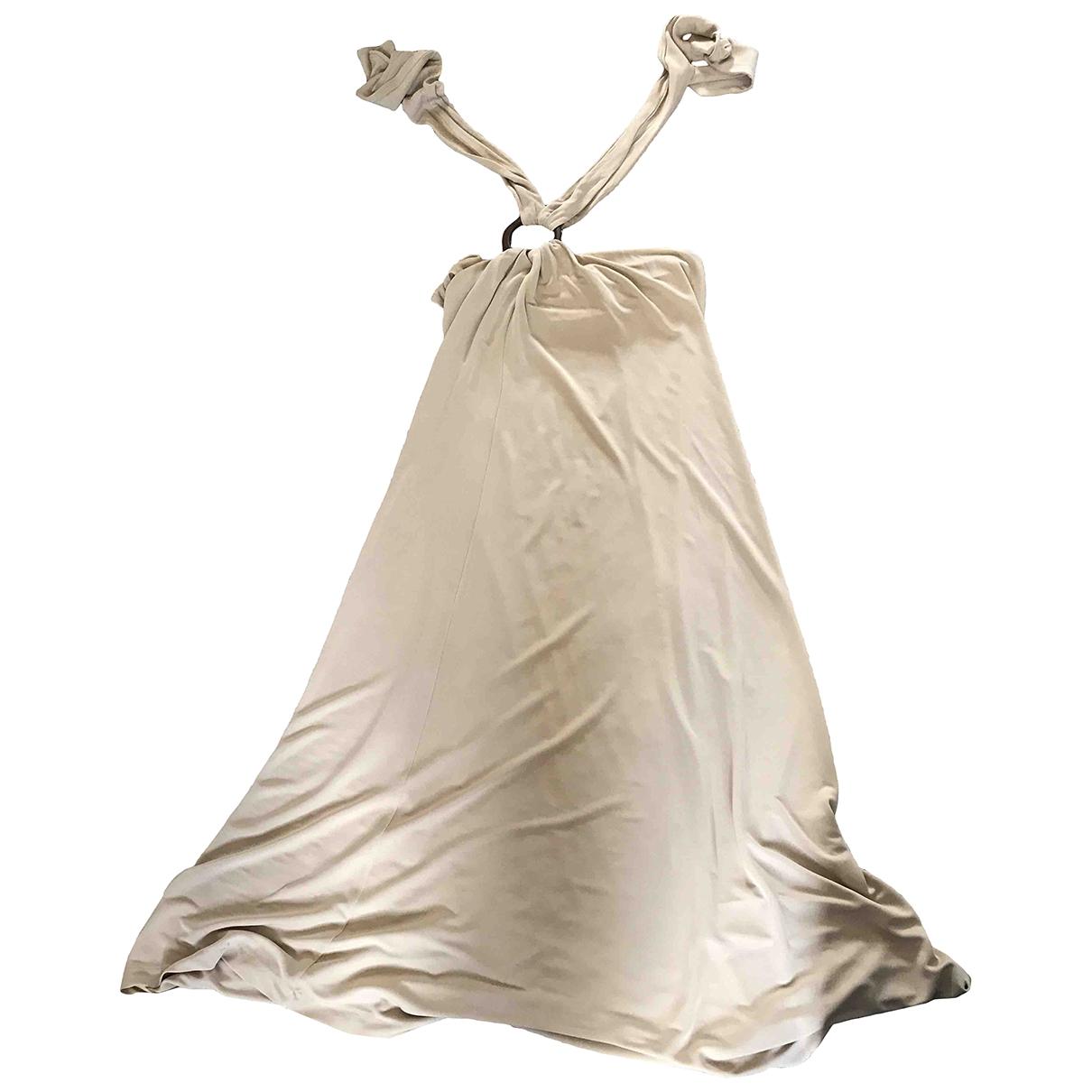 Massimo Dutti \N Beige dress for Women L International