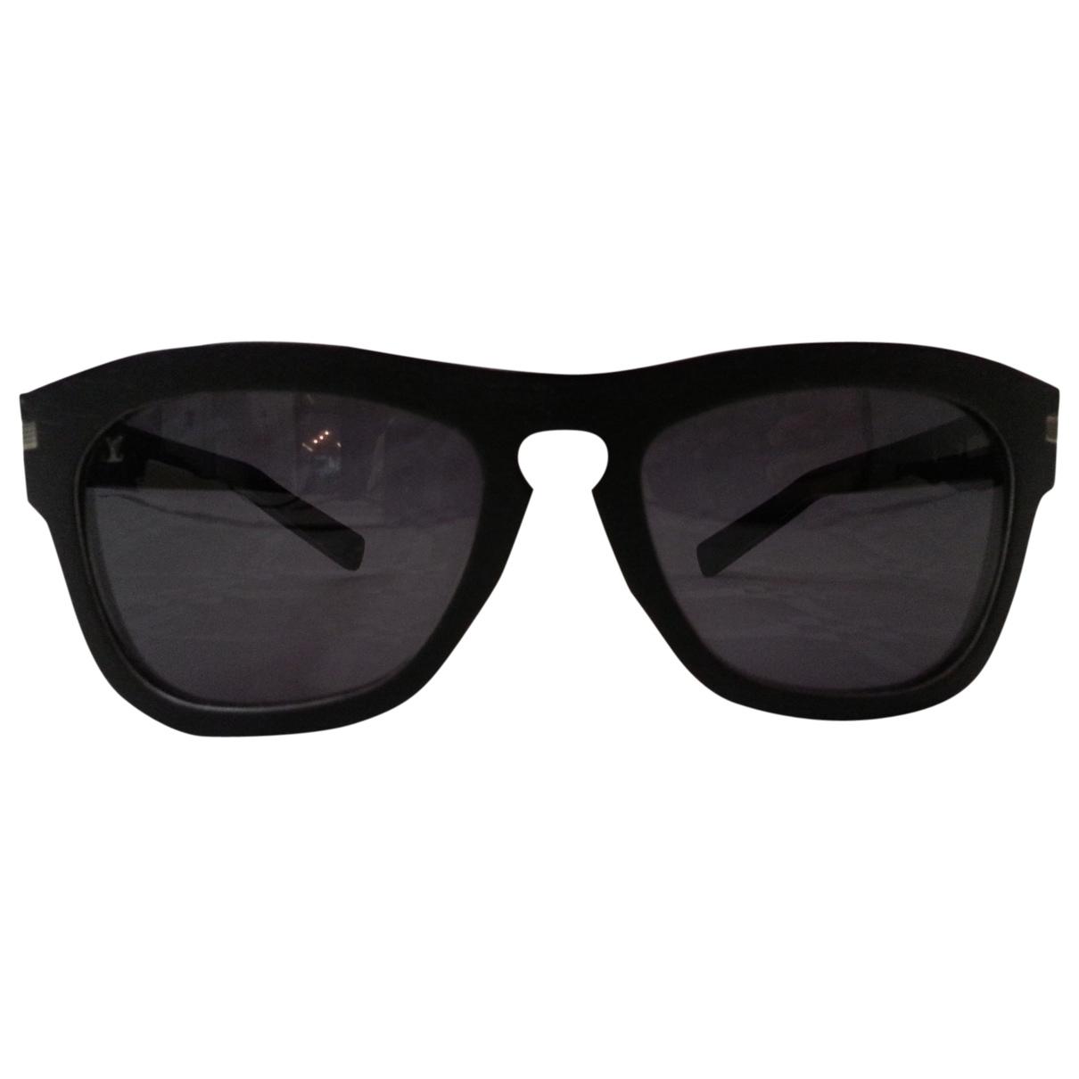 Louis Vuitton - Lunettes   pour femme en bois - noir