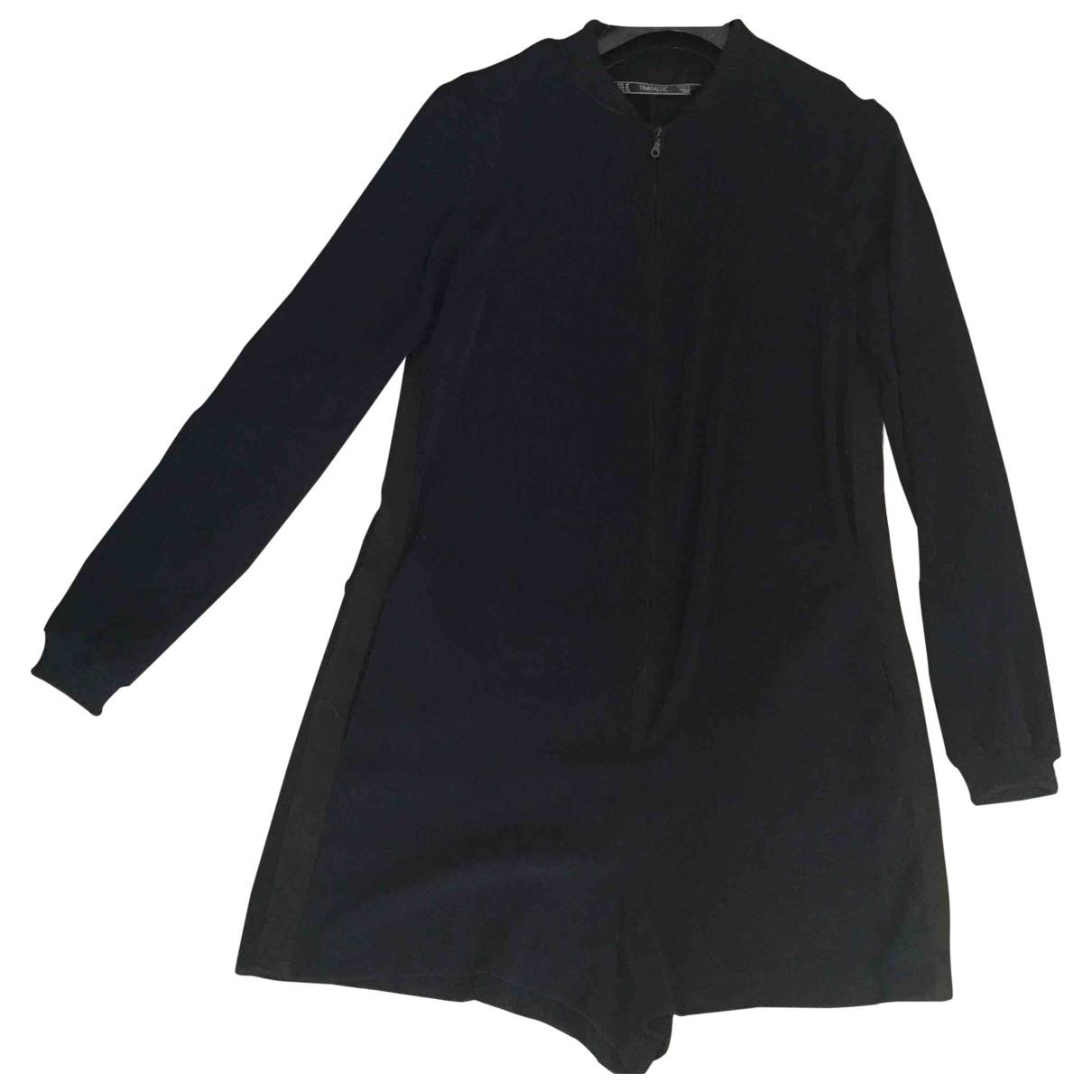 Zara \N Kleid in  Blau Polyester