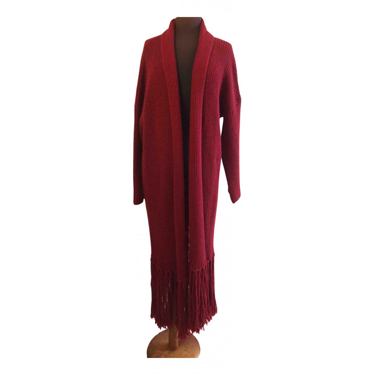 Vicolo \N Burgundy Wool coat for Women One Size International