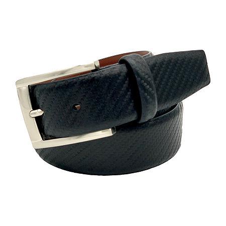 JF J.Ferrar Carbon Fiber Pattern Belt, Medium , Black