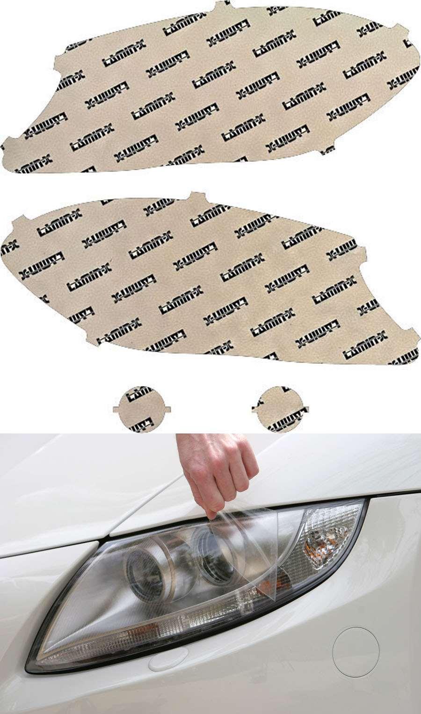 Mercedes GLA-Class 15-18 Clear Headlight Covers Lamin-X MB049CL