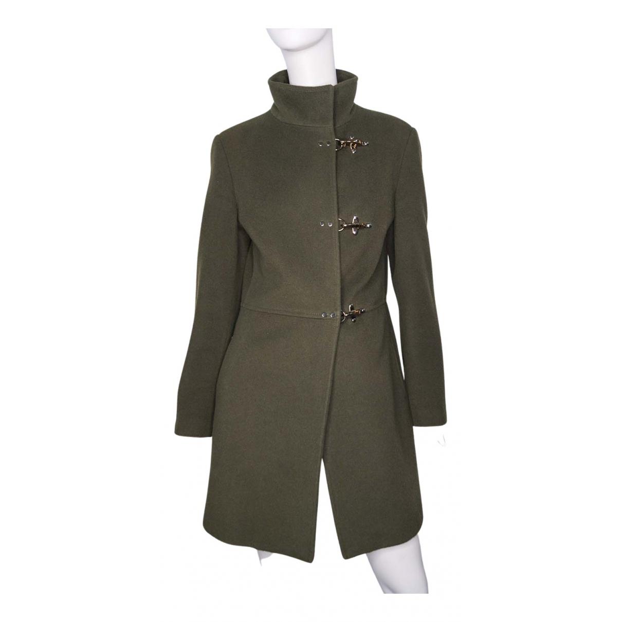Fay - Manteau   pour femme en laine - vert