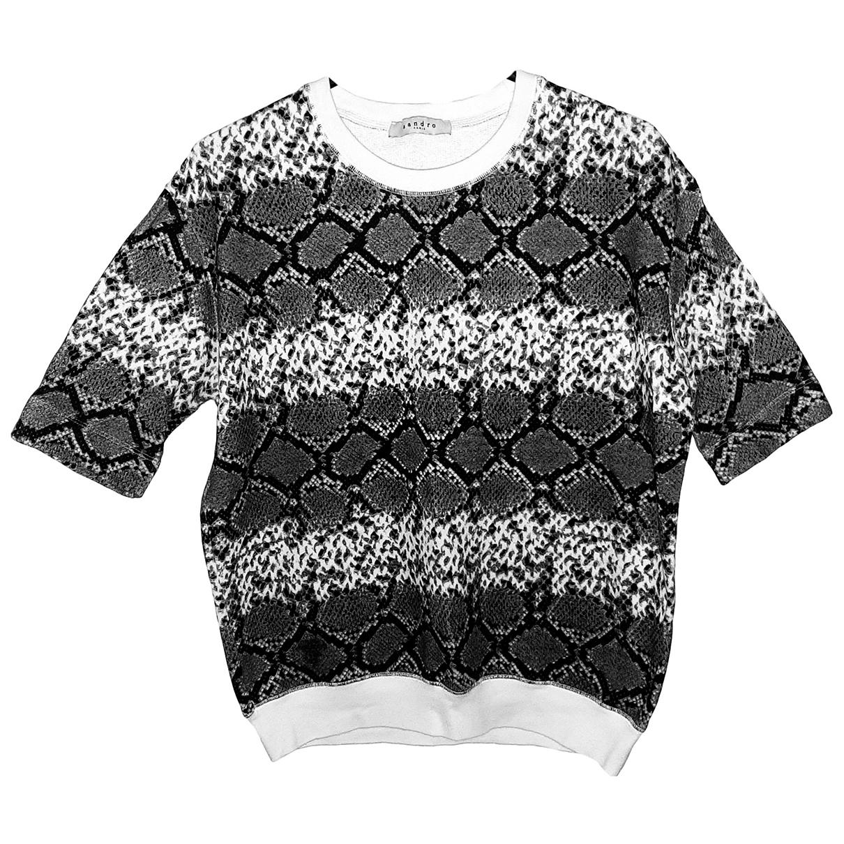 Sandro \N Grey Cotton Knitwear for Women 2 0-5