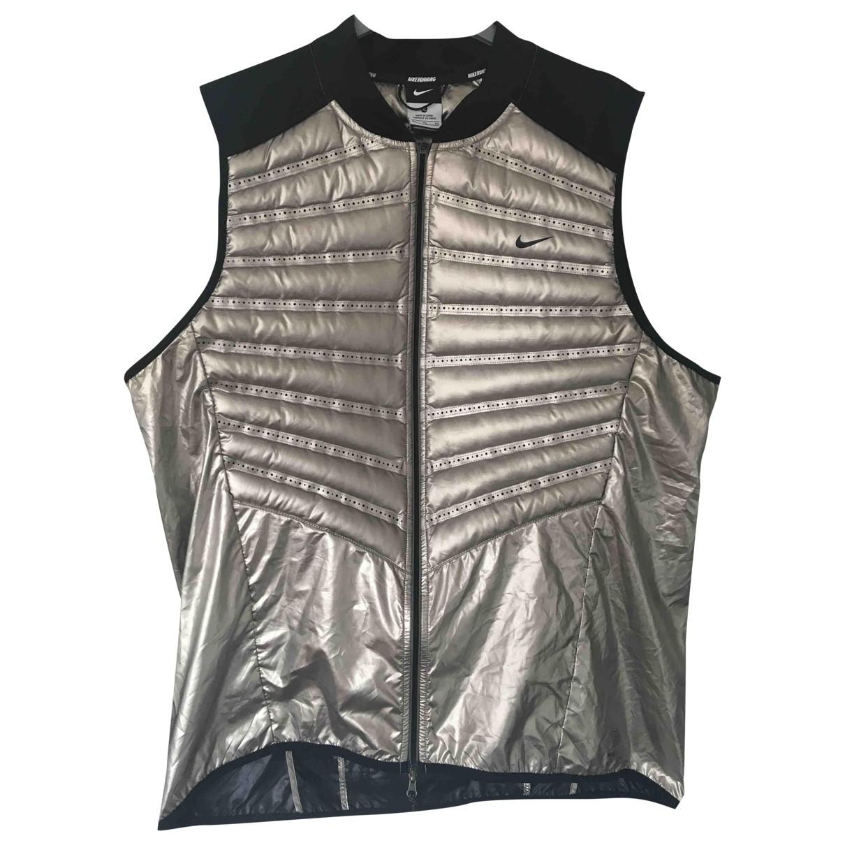Nike \N Silver jacket  for Men XL International