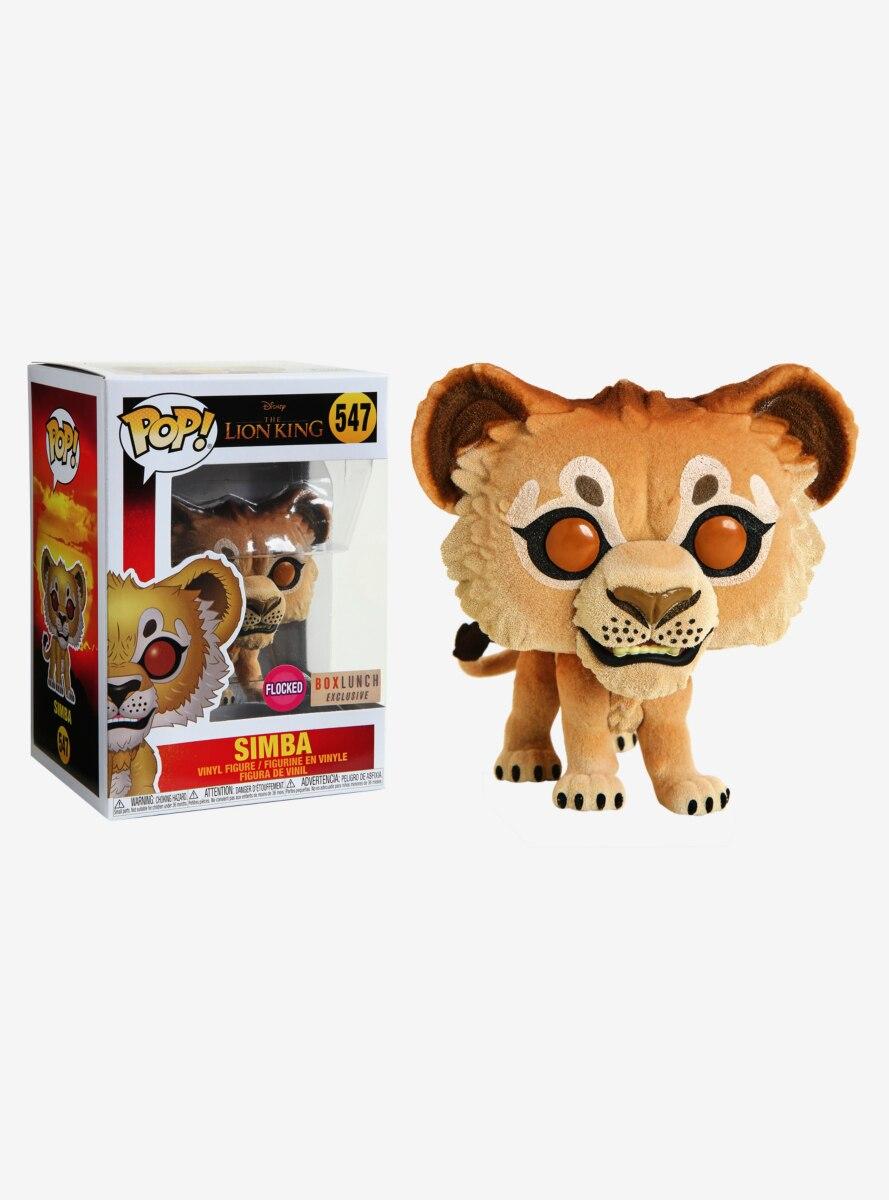 Funko Pop! Disney The Lion King Flocked Simba Vinyl Figure - BoxLunch Exclusive