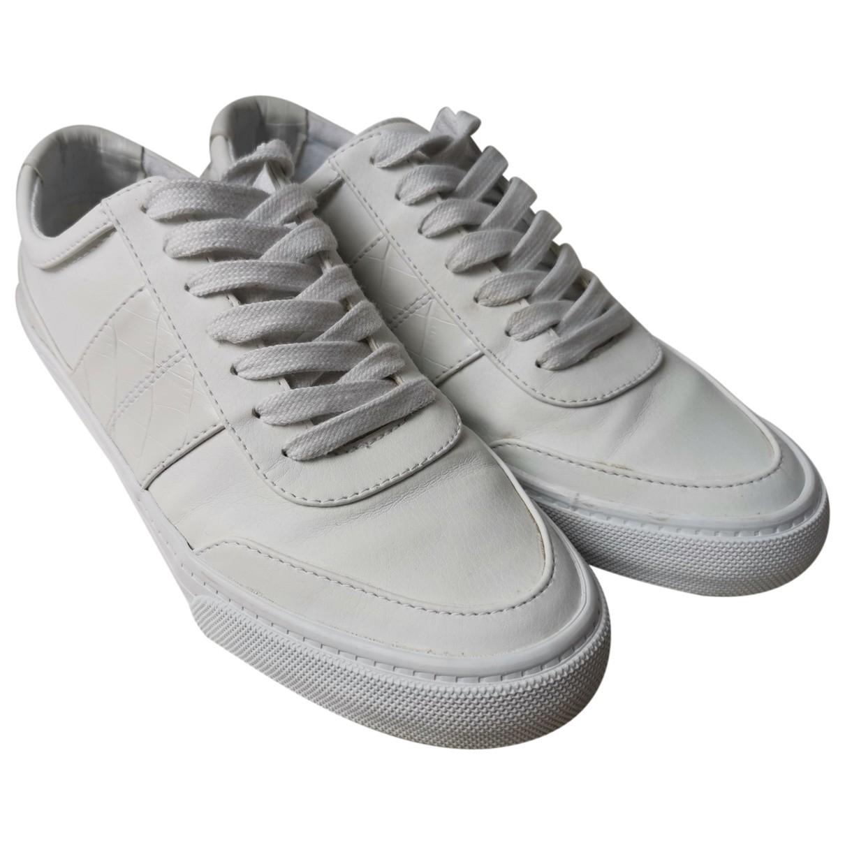Asos \N Sneakers in  Weiss Leder