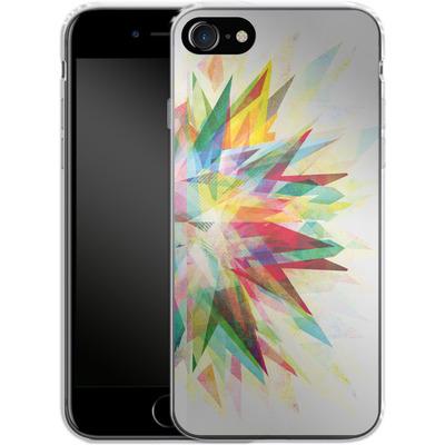 Apple iPhone 7 Silikon Handyhuelle - Colorful 6 von Mareike Bohmer