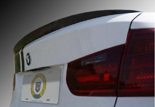 Racing Dynamics 121 14 30 120 Carbon Fiber Rear Performance Spoiler BMW F30 3-Series 4-Door Sedan 12-16