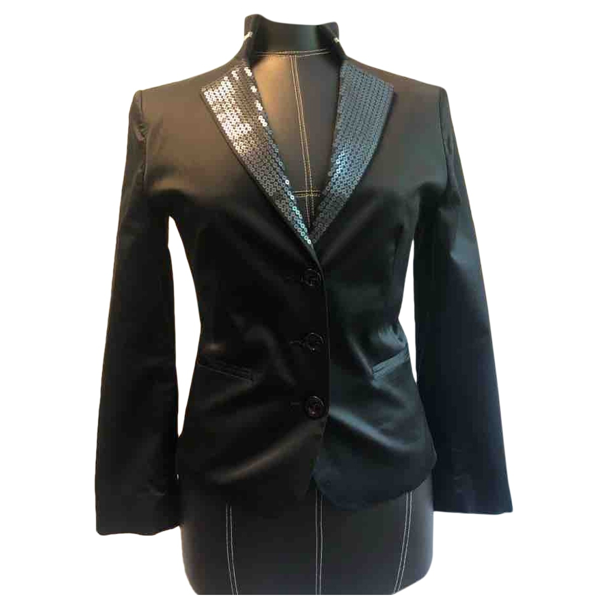 Moschino Cheap And Chic \N Black Silk jacket for Women 38 FR