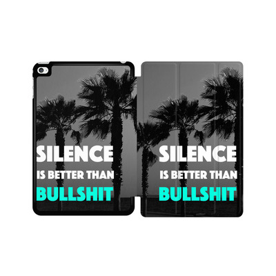Apple iPad mini 4 Tablet Smart Case - Silence Is Better von Statements