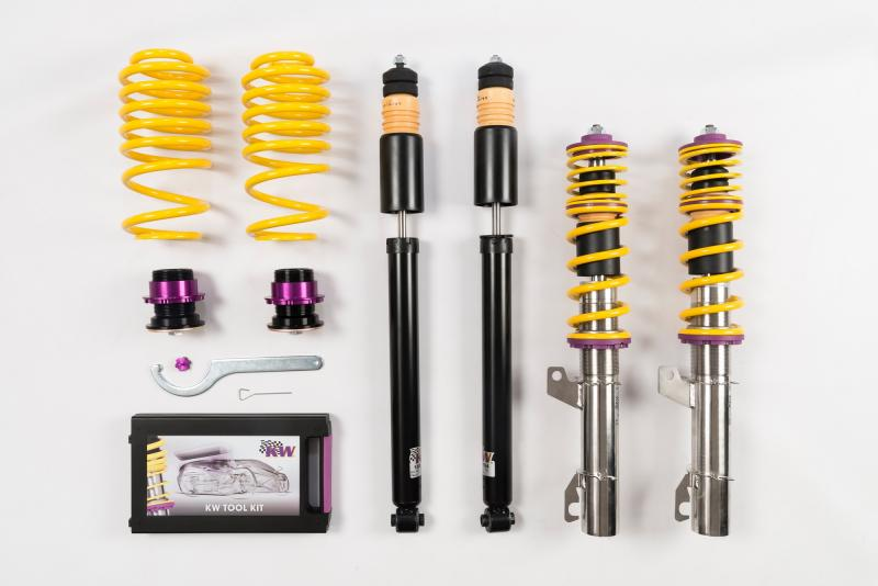 KW Coilover Kit V1 Audi TT Coupe | Roadster FWD All Engines | Volkswagen New Beetle 1998-2010