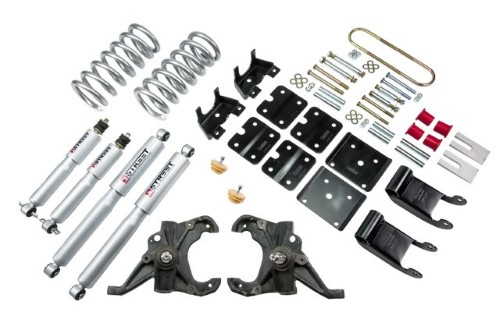 Belltech 770SP 3inch Front 3.5inch Rear Lowering Kit w/ SP Shocks Chevrolet Astro | GMC Safari 1995-2002
