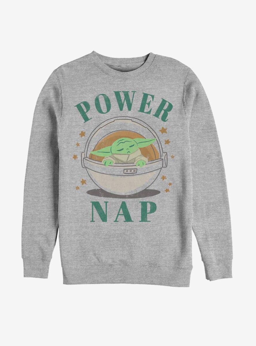 Star Wars The Mandalorian The Child Power Nap Sweatshirt