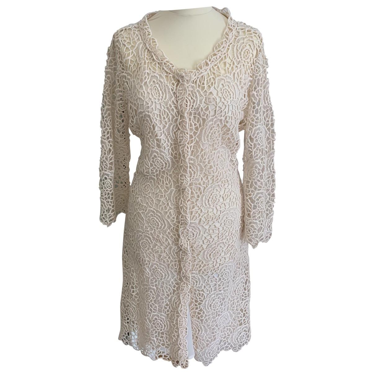 Dior \N Kleid in  Beige Wolle
