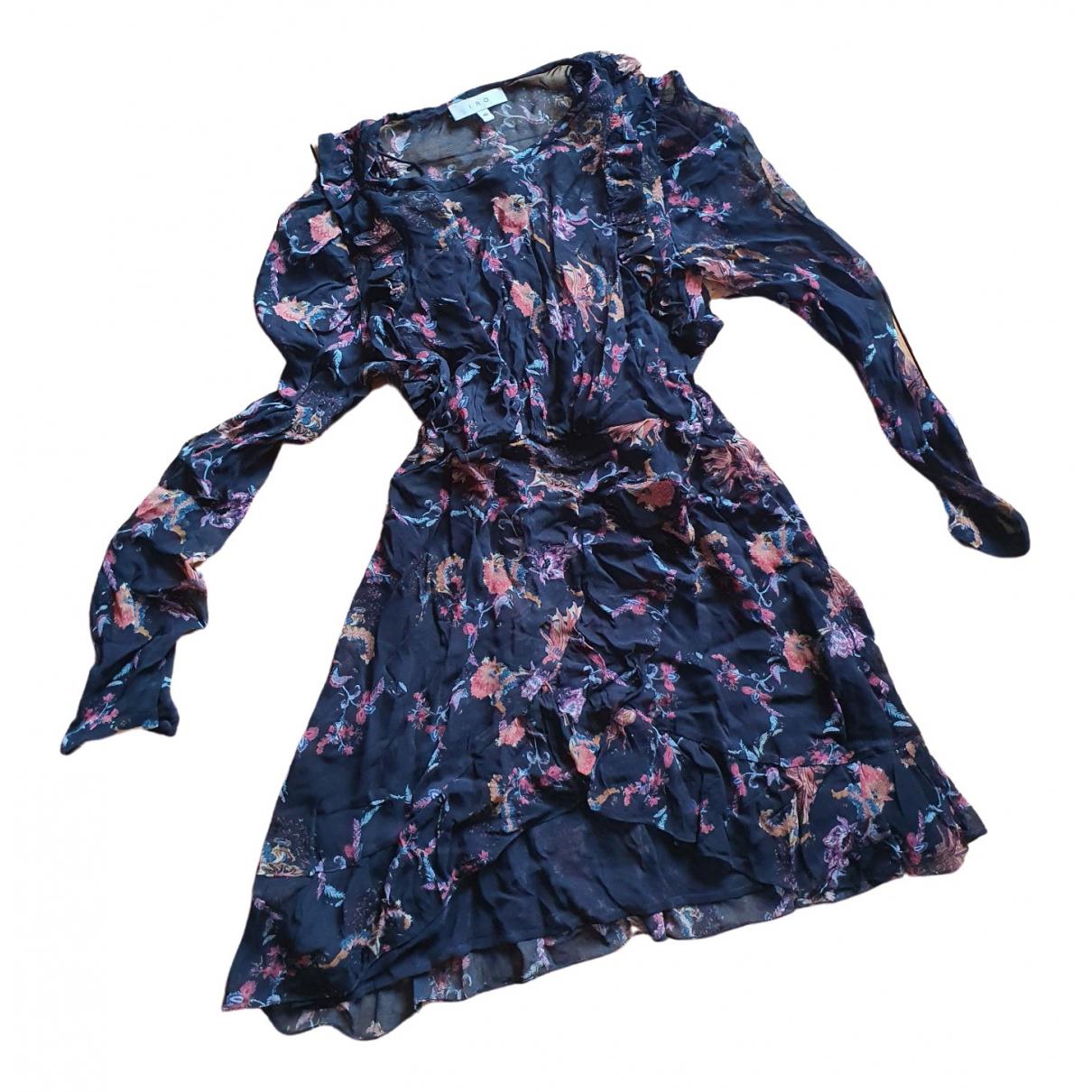 Iro \N Kleid in  Blau Polyester