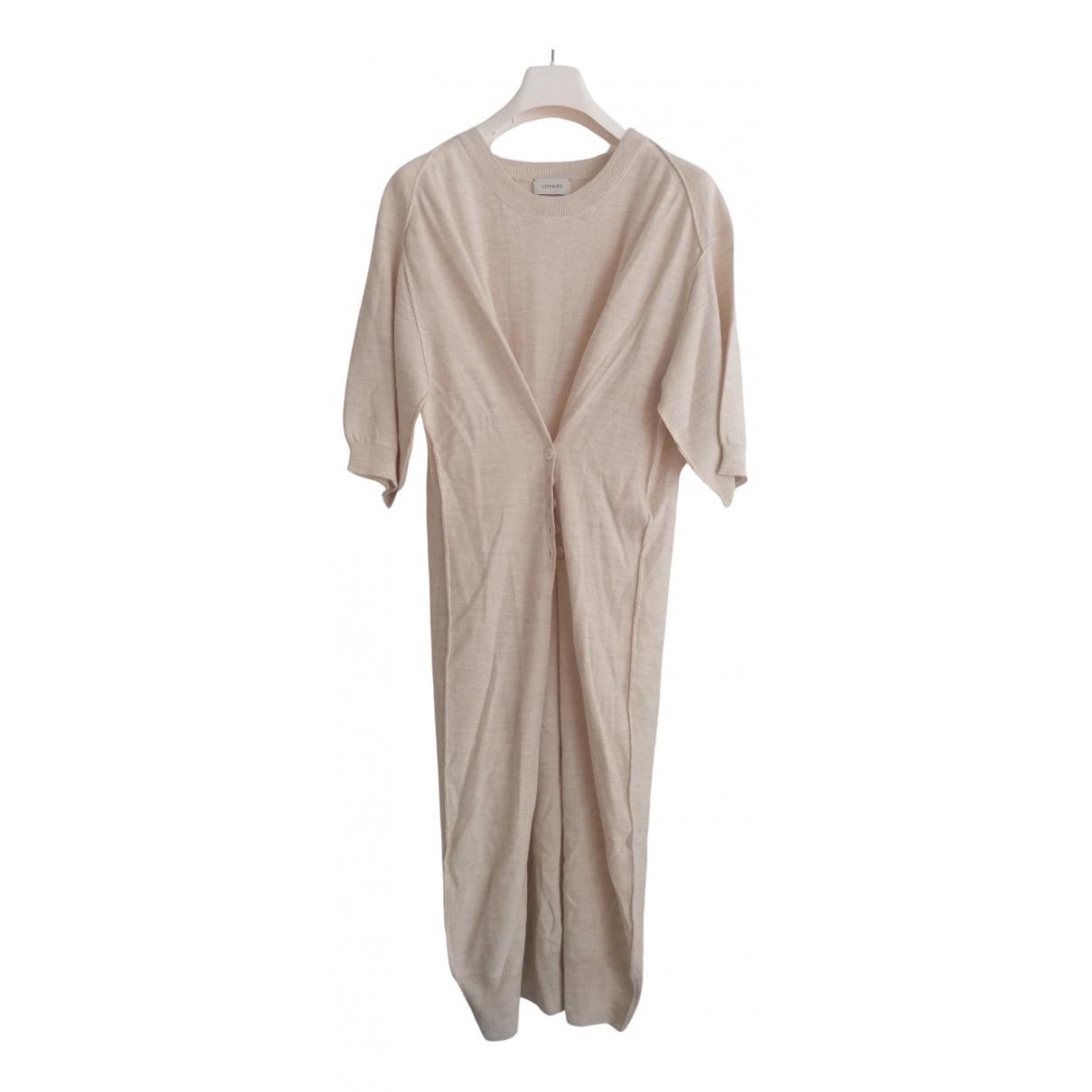 Lemaire \N Kleid in  Beige Wolle
