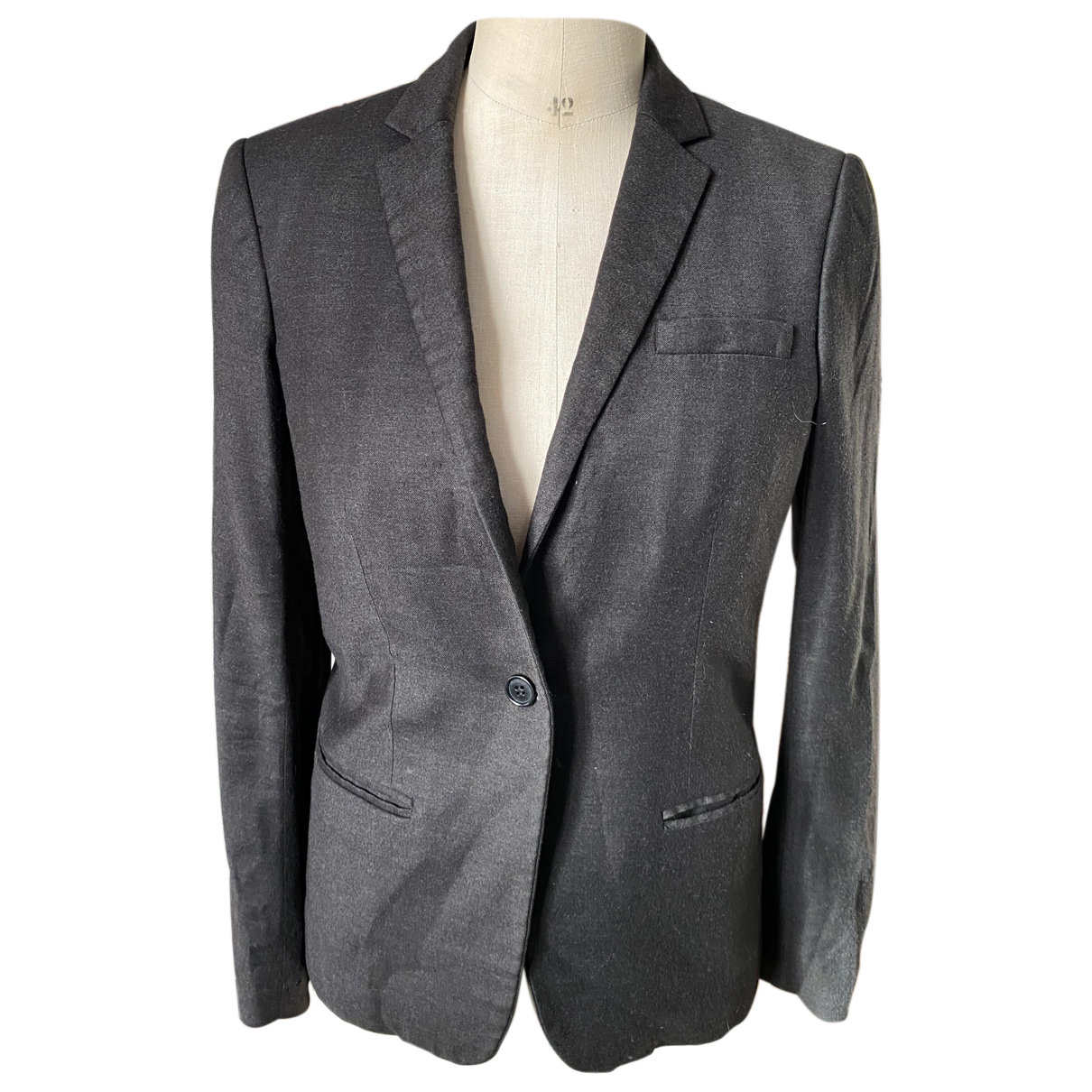 Helmut Lang N Grey Wool jacket for Women L International