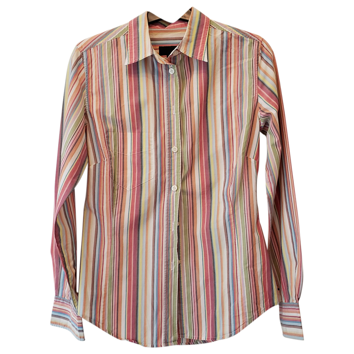Paul Smith - Top   pour femme en coton - multicolore