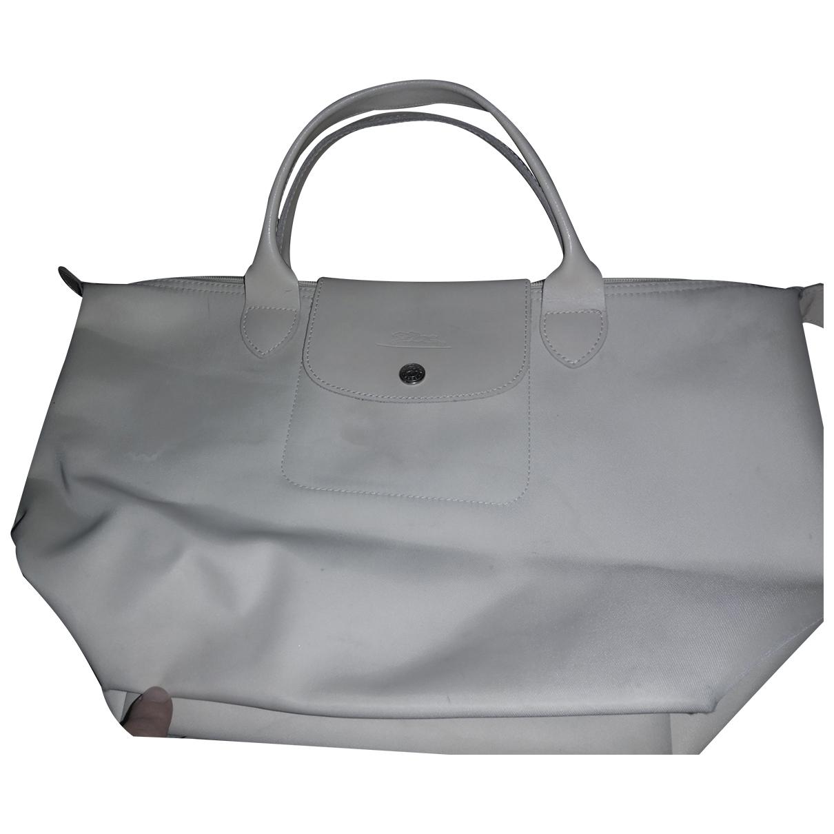 Longchamp Pliage  Beige handbag for Women \N