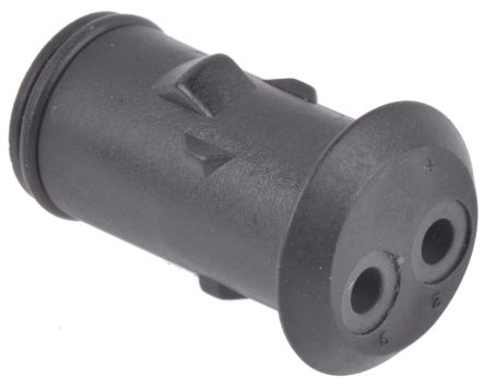 TE Connectivity , Econoseal E Female Connector Housing, 2 Way, 1 Row (5)