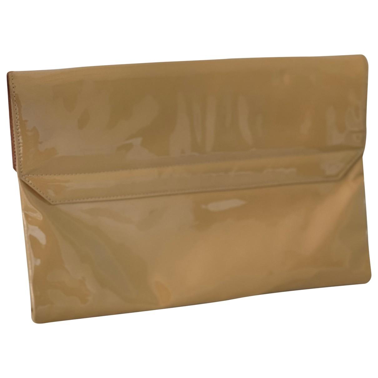 Casadei \N Beige Patent leather handbag for Women \N