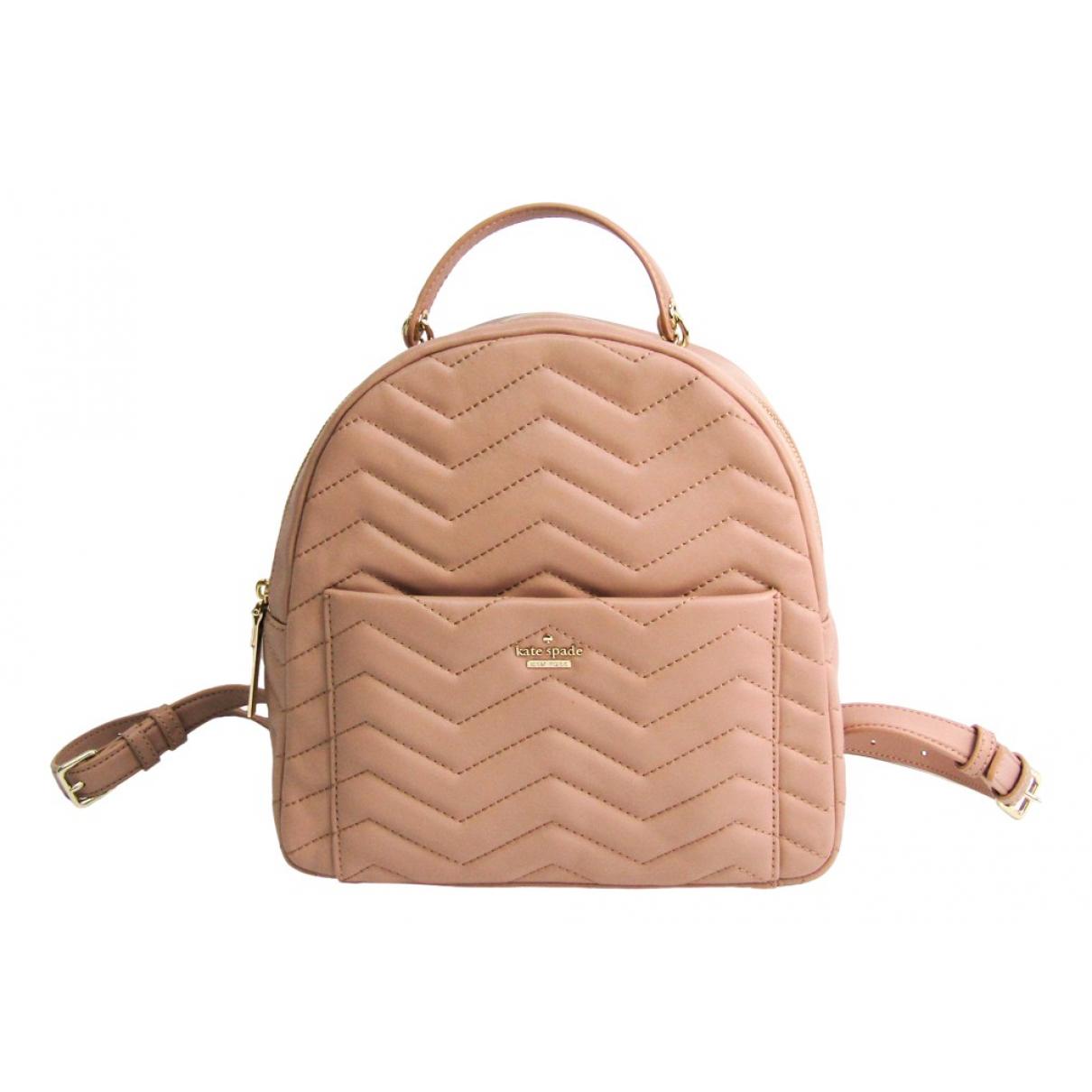 Kate Spade N Beige Leather backpack for Women N