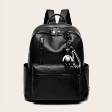 Mochila minimalista con accesorio de bolsa