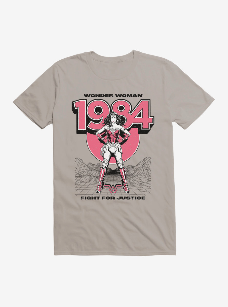 DC Comics Wonder Woman 1984 Fight For Justice T-Shirt