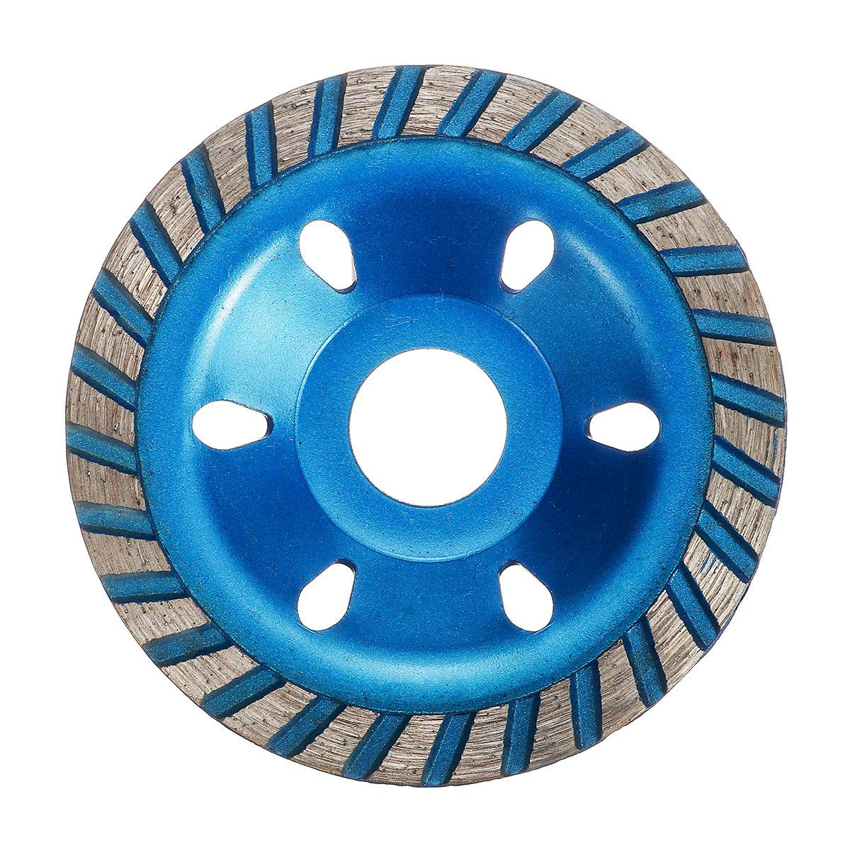 100mm Segment Diamond Grinding Wheel Abrasive Tools Disc Concrete Masonry Stone Blue