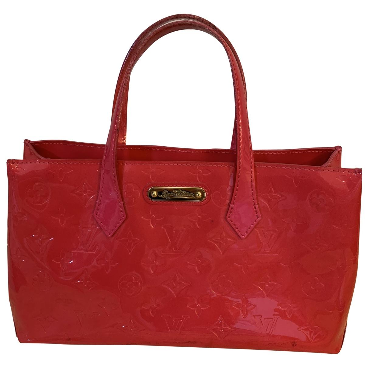 Louis Vuitton Wilshire Pink Patent leather handbag for Women \N