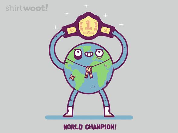 World Champion T Shirt