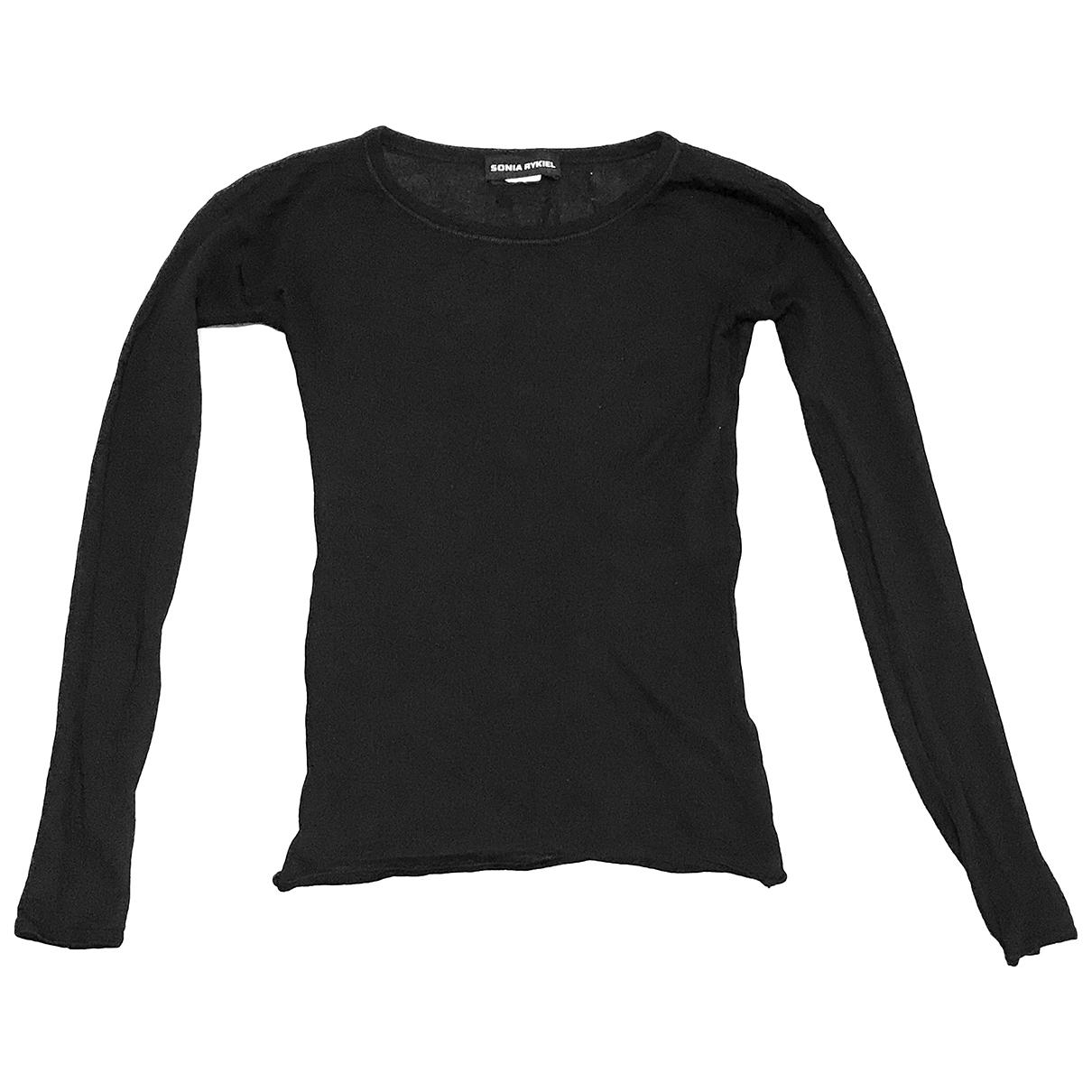 Sonia Rykiel \N Black Wool Knitwear for Women 36 FR