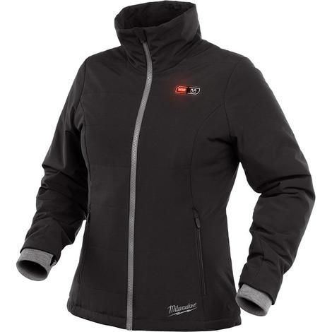 Milwaukee M12™ Women's Heated Softshell Jacket Only S (Black)