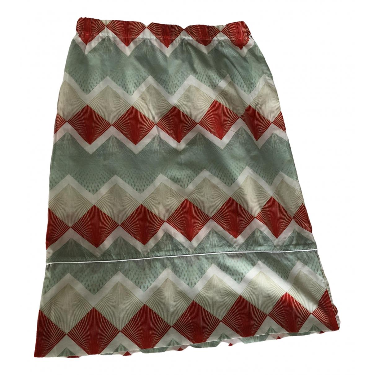 Ottod'ame \N Multicolour Cotton skirt for Women 38 FR