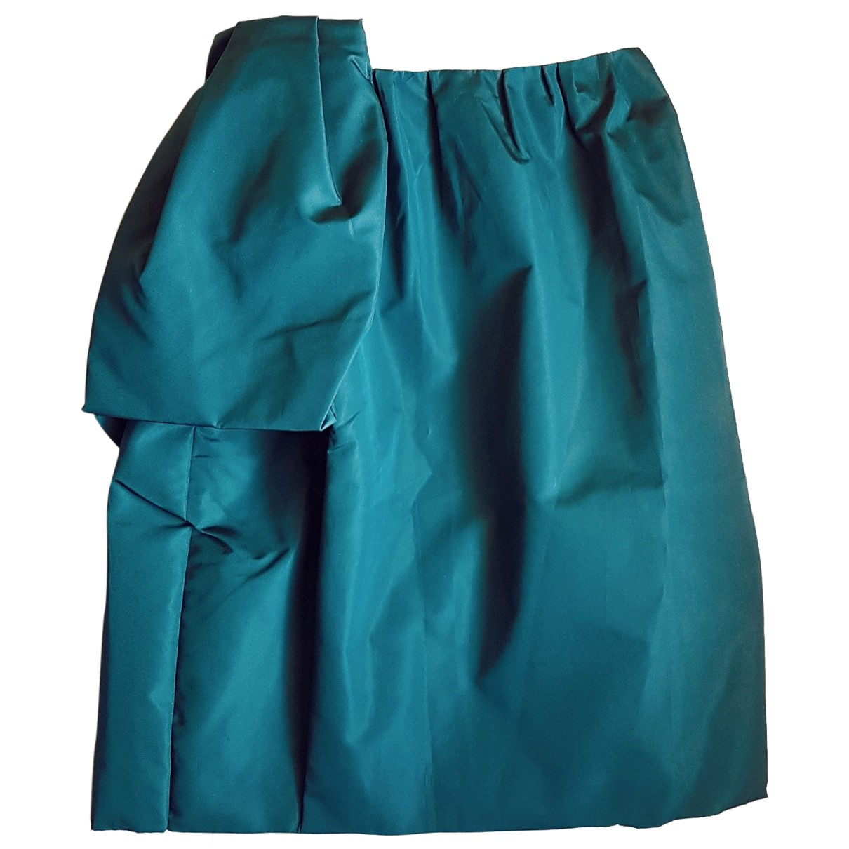 Prada N Turquoise Silk skirt for Women 36 FR