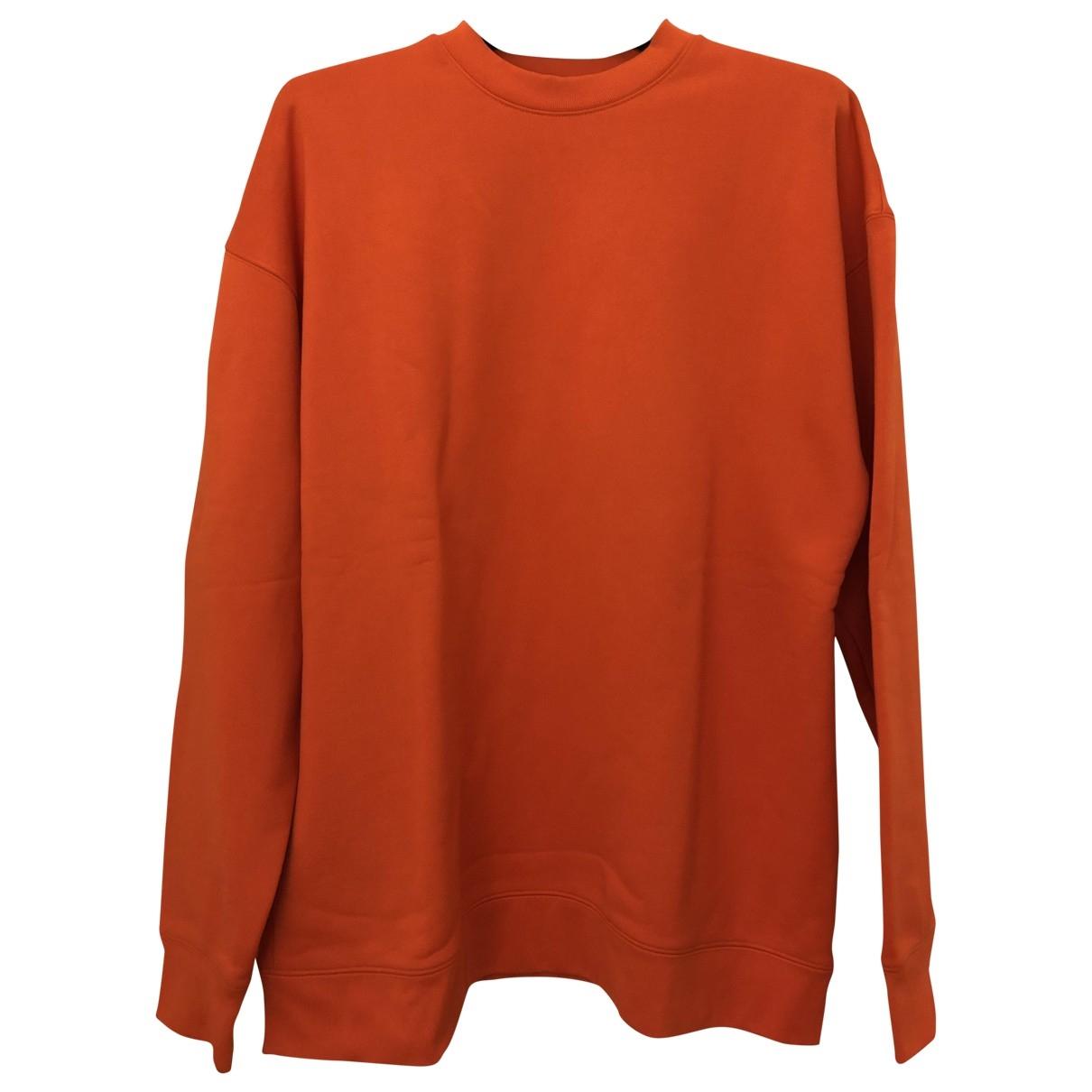 Marques Almeida \N Pullover in  Orange Baumwolle