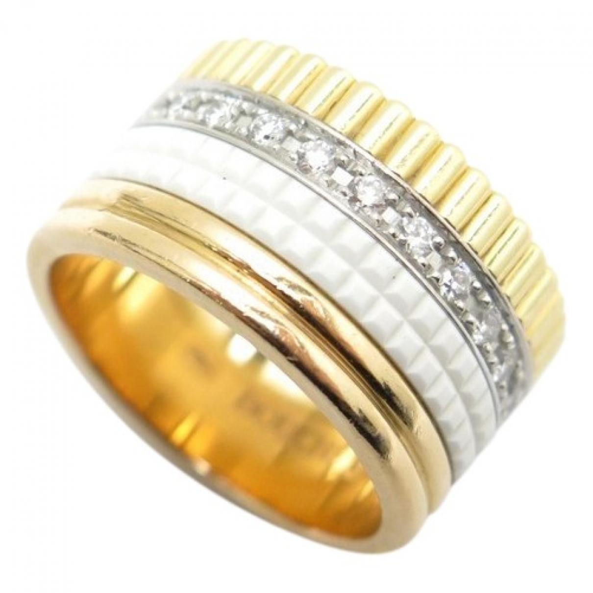Boucheron - Bague Quatre pour femme en or jaune - dore